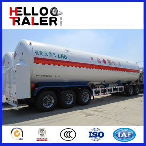 China Made Good Price 3 Axle 52.6 M3 Lngtrailer pictures & photos