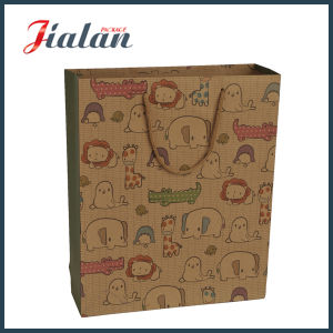 210 Ivory Paper Custom Design Matte Lamination Paper Gift Bag pictures & photos