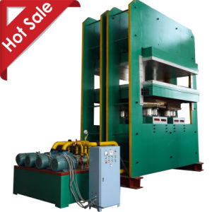 Hydraulic Plate Press Machine for Conveyor Belt Rubber Sheet pictures & photos