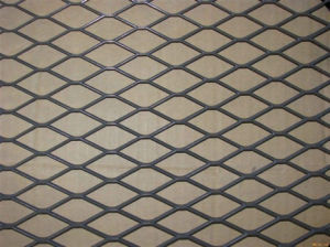 China Supplier Painted Black Colour Diamond Hole Expanded Metal Mesh China Anping Factory pictures & photos