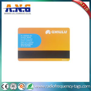 PVC Magnetic Strip RFID Em4305 Card with Full Color Printing pictures & photos