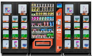 "Large Non-Refrigerated Vending Machine with 8""LCD Ad-Screen (XY-DRE-10C-018) pictures & photos"
