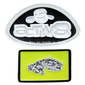 High-Frequency Embossed Reflective Logo pictures & photos