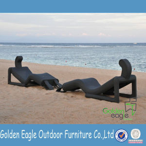 Relaxing Patio Furniture Special Shape Sun Chaise Lounge