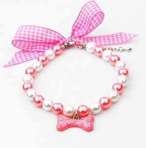 High Quality Pet Jewelry Handmade Necklace pictures & photos
