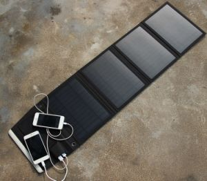 5VDC 7W/14W 20W Foldable Solar Panel Power Battery Charging Bag for Cell Phone GPS Camera. pictures & photos