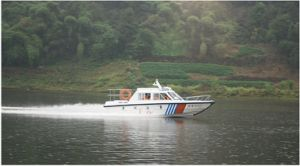 7.5m Cabin Patrol Fiberglass Boat pictures & photos