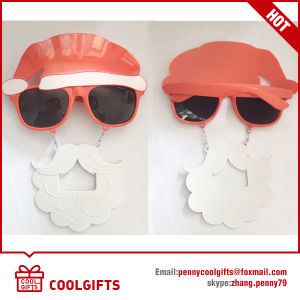 Fun Bottle Shape Sunglasses with Logo Print for Beer Festival pictures & photos