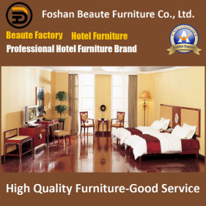 Hotel Furniture/Chinese Furniture/Standard Hotel Double Bedroom Furniture Suite/Double Hospitality Guest Room Furniture (GLB-0109840) pictures & photos
