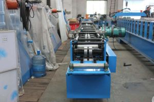 Roller Shutter Door Track Roll Forming Machine pictures & photos