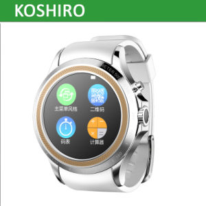 Round Screen Smart Bluetooth SIM Watch Mobile Phone pictures & photos