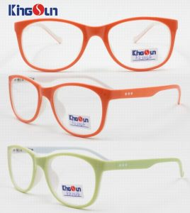 Kid′s Double Colors Injection Optical Frames pictures & photos