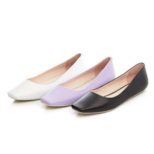 Square Toe Sexy Lady Flats Women Shoes