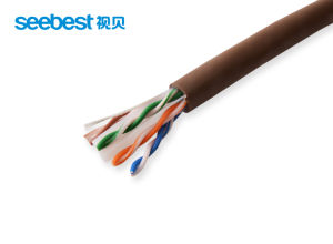 Factory Wholesale LAN Cable CAT6 Cat5e LAN Cable Coupler pictures & photos