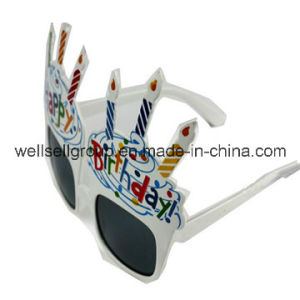 Birthday Cake Shaped Glasses for Party Decoration/Party Supplies pictures & photos