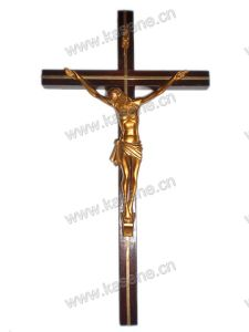 Factory Supply Wood Jesus Charm Cross Hanging on Wall