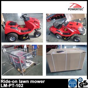 Powertec 17.5HP 102cm Ride on Gasoline Lawn Mower (LT-PT-102) pictures & photos