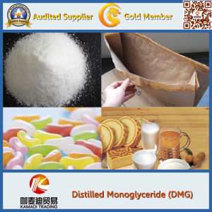Distilled Glycerin Monostearate Powder Type, Food Additives pictures & photos