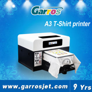 Hot Garros A3 T-Shirt Printer Automatic Flatbed Fabric Printing Machine pictures & photos