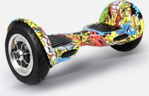 10 Inches 2 Wheels Balance Scooter with Doodle Pattern