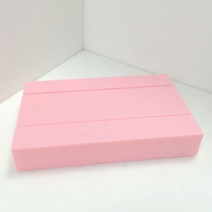 Fuda Extruded Polystyrene (XPS) Foam Board B2 Grade 400kpa Pink 30mm Thick Slotted