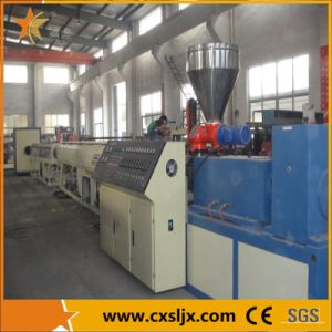 Conical Twin Screw Extruder PVC Pipe Production Line (GF) pictures & photos