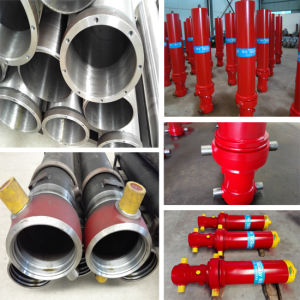 4 Stages Hydraulic Cylinder for Dump Truck pictures & photos