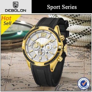 High Quality Sport Silicone Wristband Watch