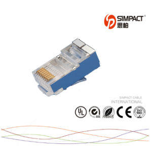 CAT6 RJ45 FTP Connector pictures & photos