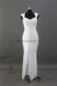 Elegant Cap Sleeve Women Party Wear Long Evening Dress pictures & photos