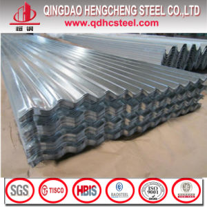 Z100 Semihard Galvanized Long Span Corrugated Roofing Sheet pictures & photos