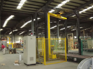 Automatic Rotary Arm Pallet Stretch Wrapper Machine pictures & photos