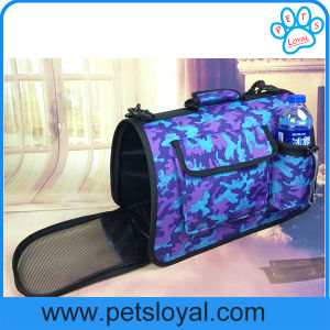 Pet Product Bag Cage PU Dog Puppy Cat Travel Carrier pictures & photos