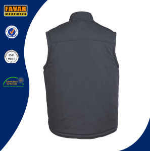 Worker Grey or Black Padded Gilet pictures & photos