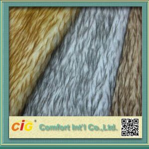 Fake Fur Fabric/Artificial Fur Fabric/PV Velvet pictures & photos