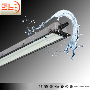 Double T8 Tube Waterproof Linear Light Fixture with CE pictures & photos