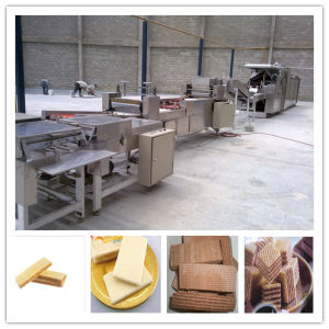 Sweet Wafer Biscuits Baker Full Automatic Production Line pictures & photos