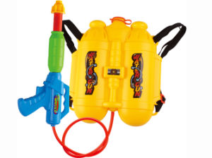 Water Gun with Backpack Summer Outdoor Toy Water Pistol (H0998105) pictures & photos