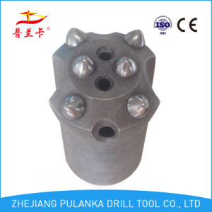 38mm 7 Degree 6 Buttons High Qualiry Carbide Tapered Rock Jack Hammer Drill Bit pictures & photos
