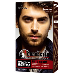 for Man Use Mustache Color Cream Hair Dye cosmetic pictures & photos