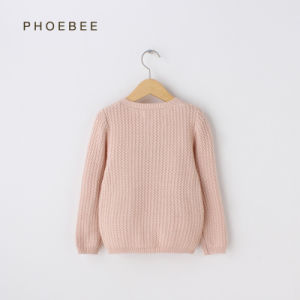Phoebee Wholesale 100% Cotton Kids Knitting/Knitted Clothes for Girls pictures & photos