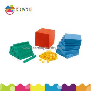 Plastic Mathematics Place Value Basen Ten Blocks (K001) pictures & photos