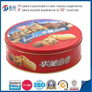 Newest OEM Round Tin Can Candy/Cake/Chocolate/Cookie Boxes pictures & photos