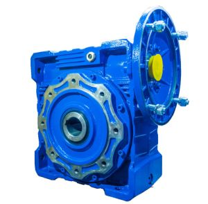 Nmrv Worm Gear Box with Output Flange Transmission Gear Box pictures & photos
