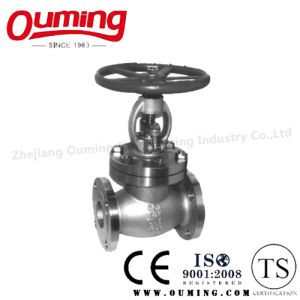 JIS Standard Stainless Steel Flanged Globe Valve pictures & photos