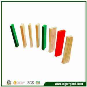 High Quality Colorful Wooden Domino for Children Toy pictures & photos
