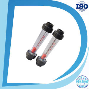 Water Air Steam Flow Sensor Rotameter Flange Thread Socket-End Plastic Flowmeter pictures & photos