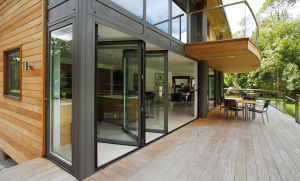 Aluminum Folding Bifold Door for House pictures & photos