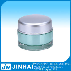 Colorful Plastic Cosmetic Jar for Skin Care Cream pictures & photos