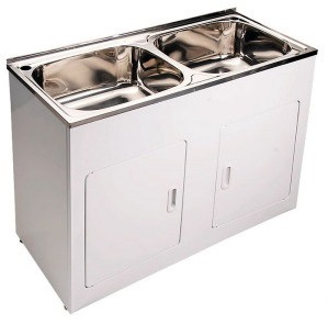 China commercial used stainless steel laundry sink tub - Commercial bathroom sinks stainless steel ...